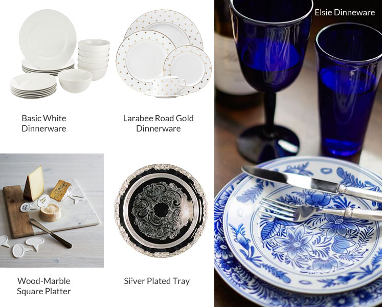 Dinner Party Plates and Platters