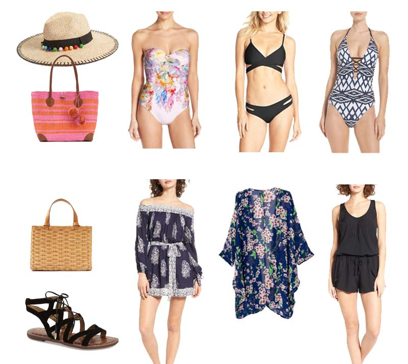 Winter Beach Vacation Outfits