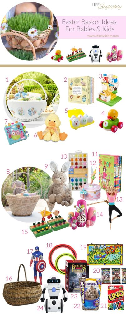 24 Easter Basket Ideas for Kids and Babies