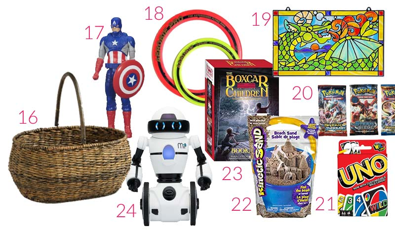 Captain America Easter Basket Part - 20: Easter Basket Ideas for Boys