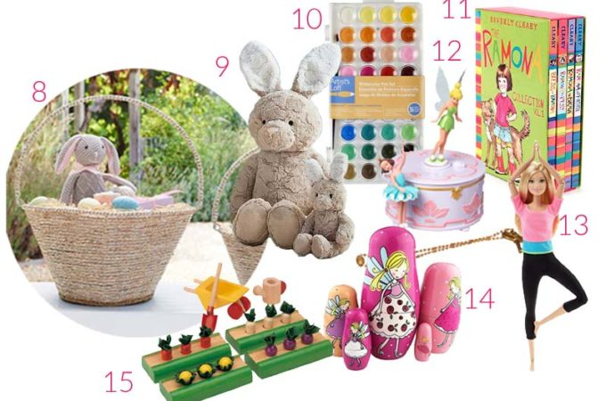 24 Easter Basket Ideas for Babies & Kids