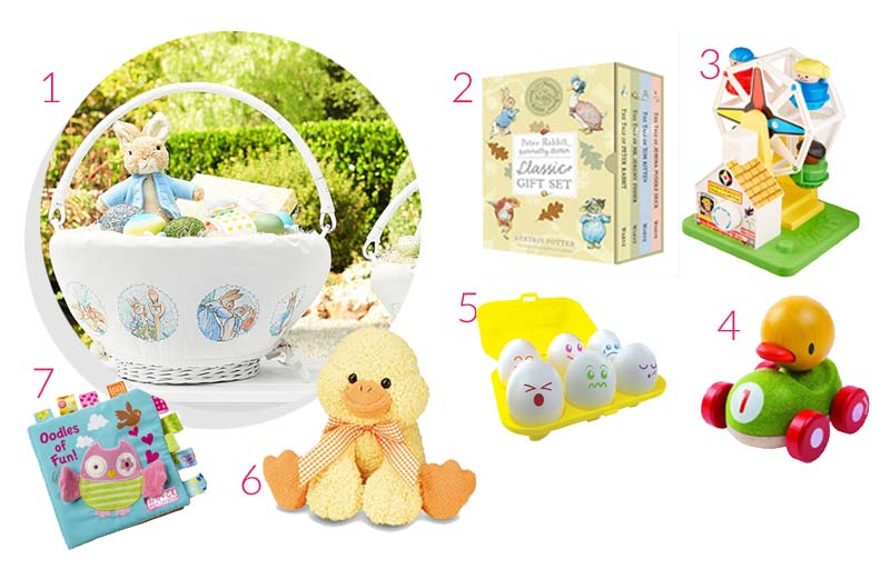 24 easter basket ideas for babies kids life stylishly easter basket ideas for babies kids negle Image collections